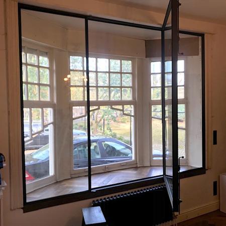Smeedijzeren deuren en ramen